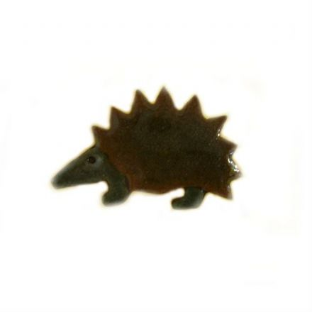 Hedgehog Pin Badge